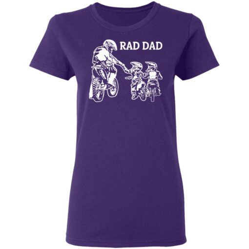 Best Funny Dad Son Gift 2021, Motorbike Rad Dad T-Shirt 13 of Sapelle