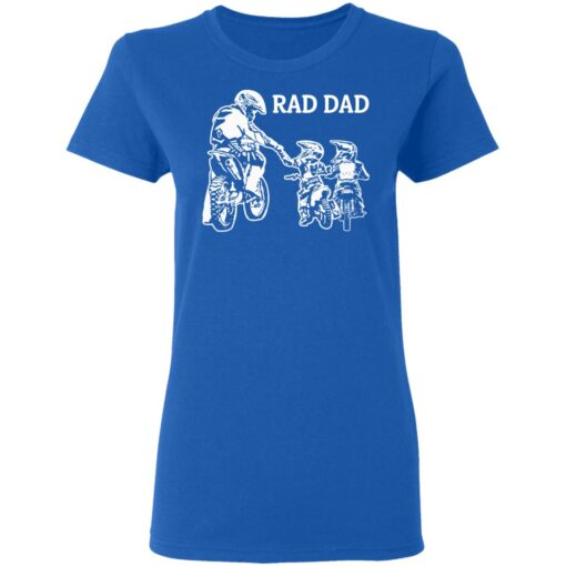 Best Funny Dad Son Gift 2021, Motorbike Rad Dad T-Shirt 14 of Sapelle