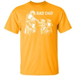 Best Funny Dad Son Gift 2021, Motorbike Rad Dad T-Shirt 17 of Sapelle