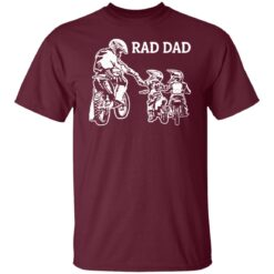 Best Funny Dad Son Gift 2021, Motorbike Rad Dad T-Shirt 19 of Sapelle
