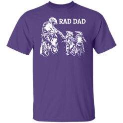 Best Funny Dad Son Gift 2021, Motorbike Rad Dad T-Shirt 23 of Sapelle