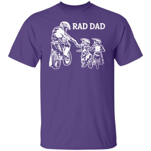 Best Funny Dad Son Gift 2021, Motorbike Rad Dad T-Shirt 6 of Sapelle