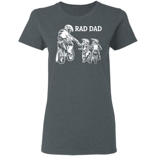 Best Funny Dad Son Gift 2021, Motorbike Rad Dad T-Shirt 9 of Sapelle