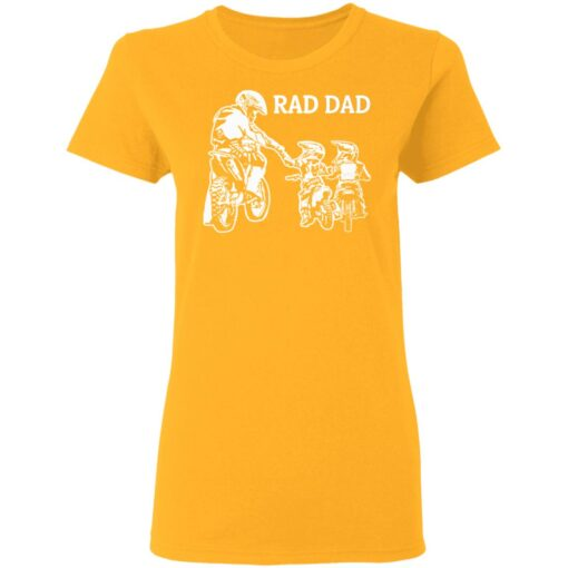 Best Funny Dad Son Gift 2021, Motorbike Rad Dad T-Shirt 10 of Sapelle