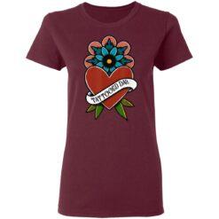 Best Tattooed Flower Gift 2021, Tattooed Dad T-Shirt 33 of Sapelle