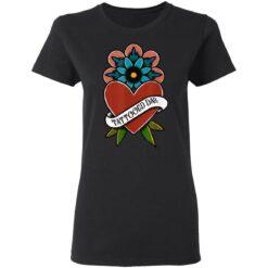 Best Tattooed Flower Gift 2021, Tattooed Dad T-Shirt 27 of Sapelle
