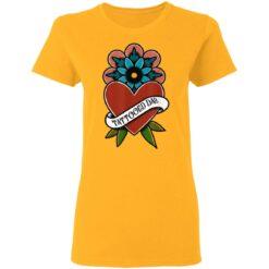 Best Tattooed Flower Gift 2021, Tattooed Dad T-Shirt 31 of Sapelle