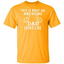 Best Awesome Dad Gifts, Awesome Dad T-Shirt 17 of Sapelle