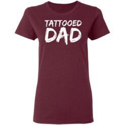 Best Tattooed Man Gift 2021, Tattooed Dad T-Shirt 33 of Sapelle