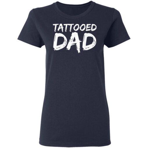 Best Tattooed Man Gift 2021, Tattooed Dad T-Shirt 12 of Sapelle