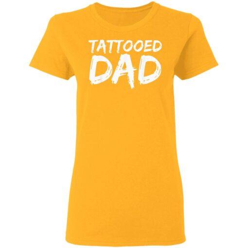 Best Tattooed Man Gift 2021, Tattooed Dad T-Shirt 10 of Sapelle