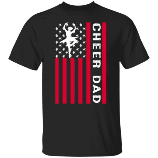 Best Cheerleading Dads Gift 2021, Cheer Dad T-Shirt 1 of Sapelle