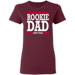 New Father Gift Rookie Dad T-Shirt 33 of Sapelle