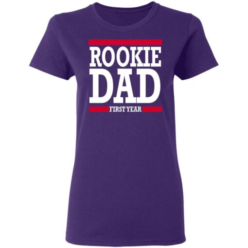 New Father Gift Rookie Dad T-Shirt 13 of Sapelle