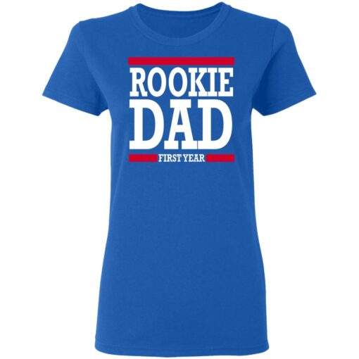 New Father Gift Rookie Dad T-Shirt 14 of Sapelle