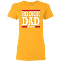 New Father Gift Rookie Dad T-Shirt 31 of Sapelle