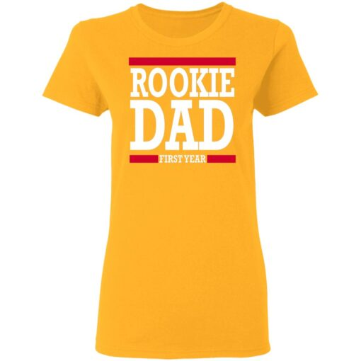 New Father Gift Rookie Dad T-Shirt 10 of Sapelle