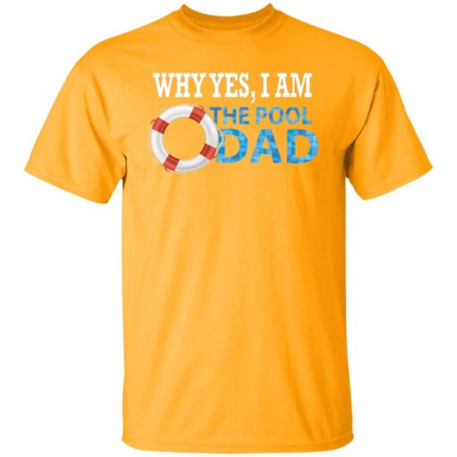 Swimmer Gift Swim Dad T-Shirt 3 of Sapelle