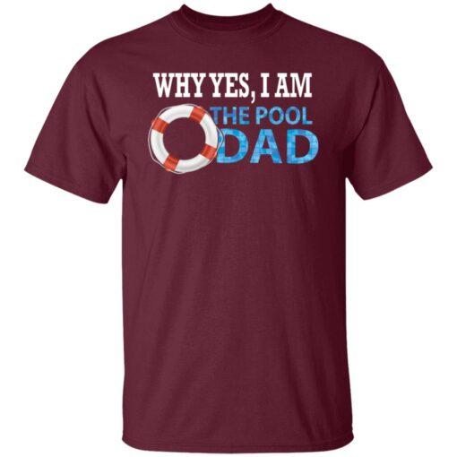 Swimmer Gift Swim Dad T-Shirt 4 of Sapelle