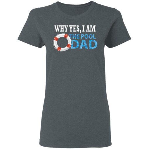 Swimmer Gift Swim Dad T-Shirt 9 of Sapelle