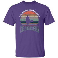 Best Men Vintage Shirt 2021, The Dadalorian Best Dad In The Galaxy T-Shirt 23 of Sapelle