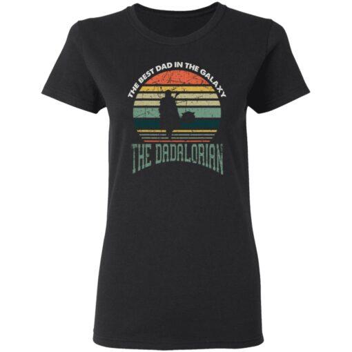 Best Men Vintage Shirt 2021, The Dadalorian Best Dad In The Galaxy T-Shirt 8 of Sapelle