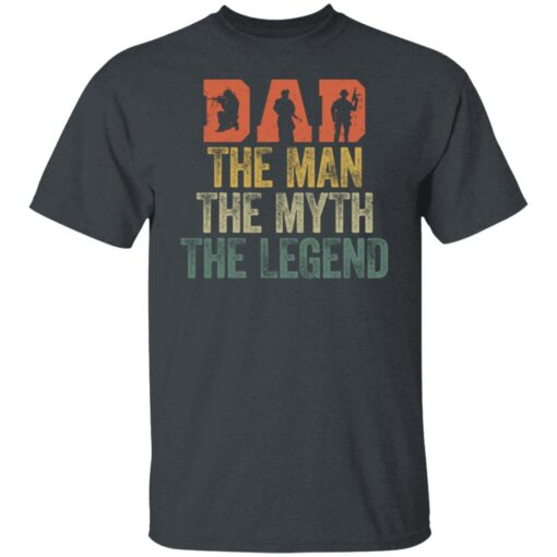Best Gifts For Navy Dad ,Dad The Man The Myth The Legend T-Shirt 2 of Sapelle