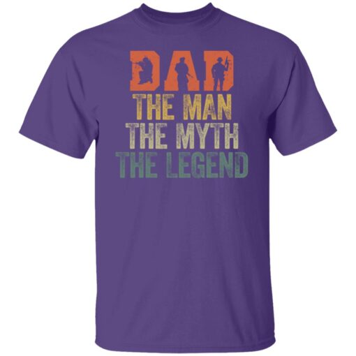Best Gifts For Navy Dad ,Dad The Man The Myth The Legend T-Shirt 6 of Sapelle