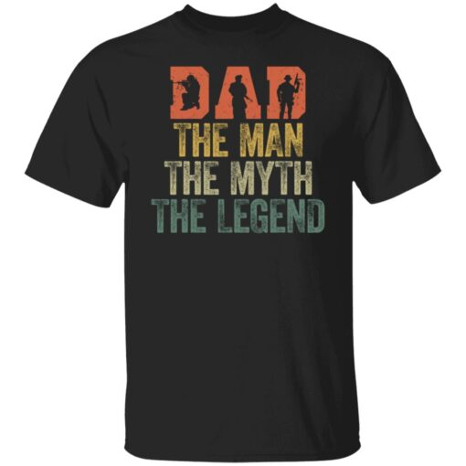 Best Gifts For Navy Dad ,Dad The Man The Myth The Legend T-Shirt 1 of Sapelle