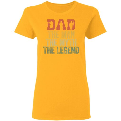 Best Gifts For Navy Dad ,Dad The Man The Myth The Legend T-Shirt 10 of Sapelle