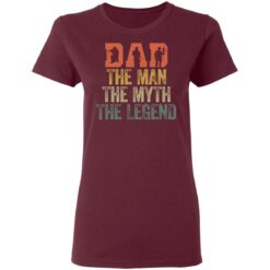 Best Gifts For Navy Dad ,Dad The Man The Myth The Legend T-Shirt 33 of Sapelle