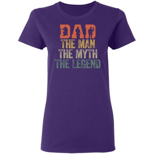 Best Gifts For Navy Dad ,Dad The Man The Myth The Legend T-Shirt 13 of Sapelle