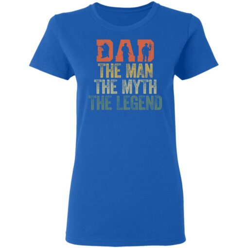 Best Gifts For Navy Dad ,Dad The Man The Myth The Legend T-Shirt 14 of Sapelle