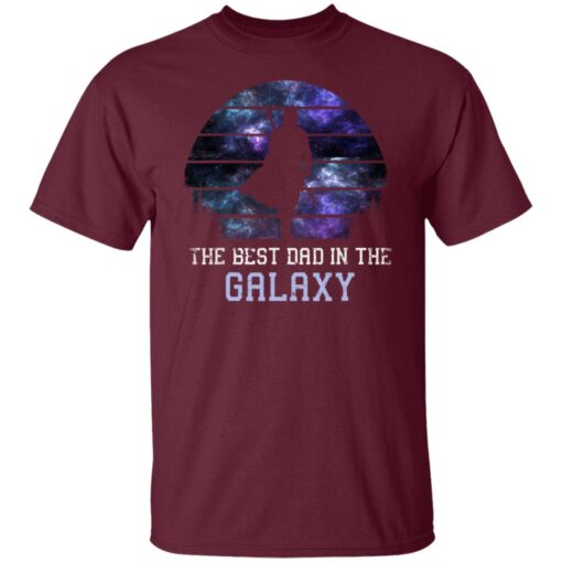 Best Gift For Dad 2021, Best Dad In The Galaxy T-Shirt 4 of Sapelle