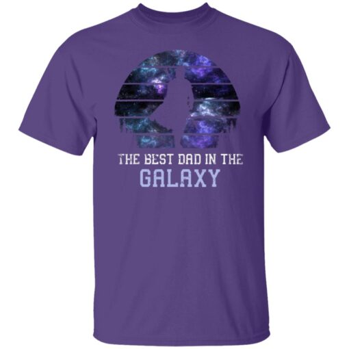 Best Gift For Dad 2021, Best Dad In The Galaxy T-Shirt 6 of Sapelle