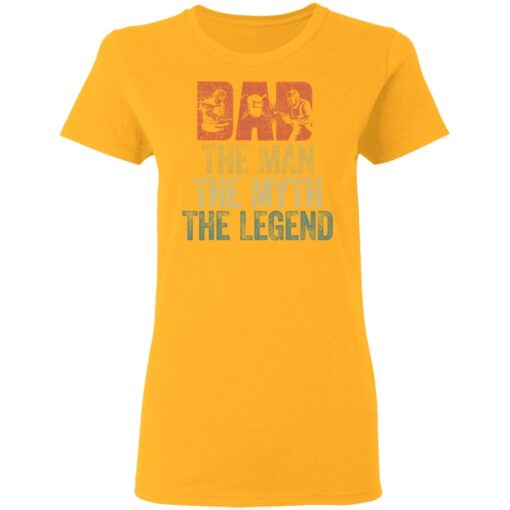 Gifts For Mechanic Dad ,Dad The Man The Myth The Legend T-Shirt 10 of Sapelle