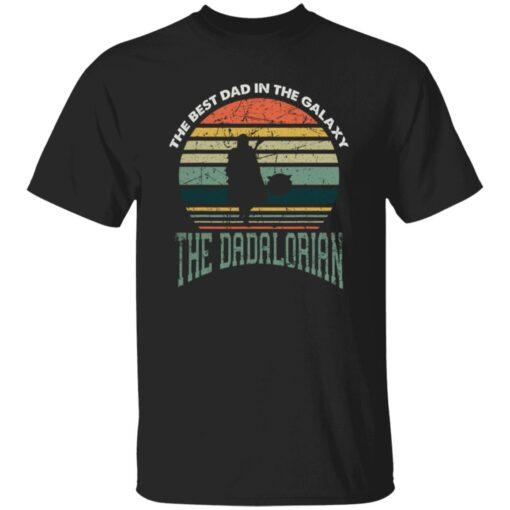Best Men Vintage Shirt 2021, The Dadalorian Best Dad In The Galaxy T-Shirt 1 of Sapelle