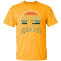Best Men Vintage Shirt 2021, The Dadalorian Best Dad In The Galaxy T-Shirt 17 of Sapelle