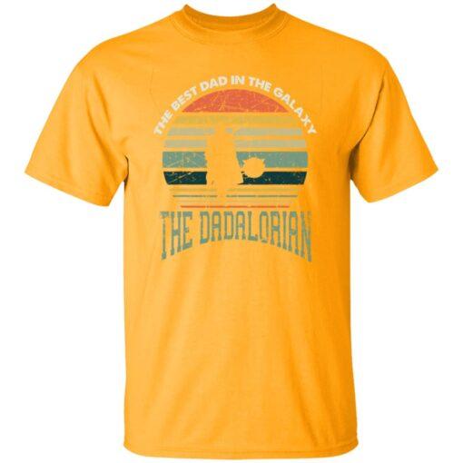 Best Men Vintage Shirt 2021, The Dadalorian Best Dad In The Galaxy T-Shirt 3 of Sapelle