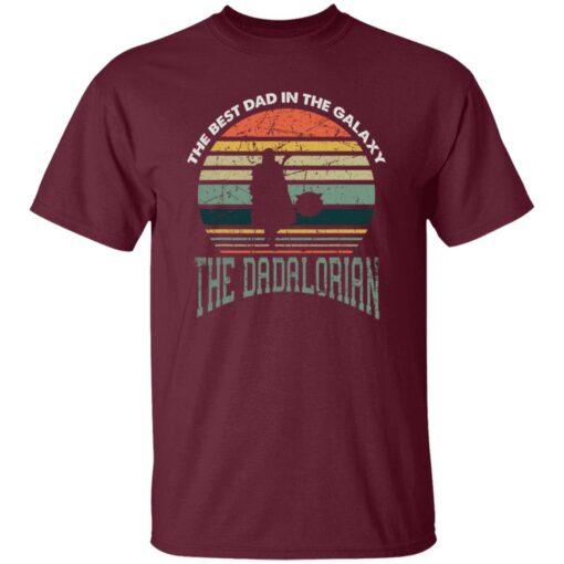 Best Men Vintage Shirt 2021, The Dadalorian Best Dad In The Galaxy T-Shirt 4 of Sapelle