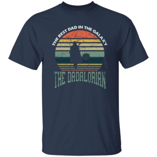 Best Men Vintage Shirt 2021, The Dadalorian Best Dad In The Galaxy T-Shirt 5 of Sapelle