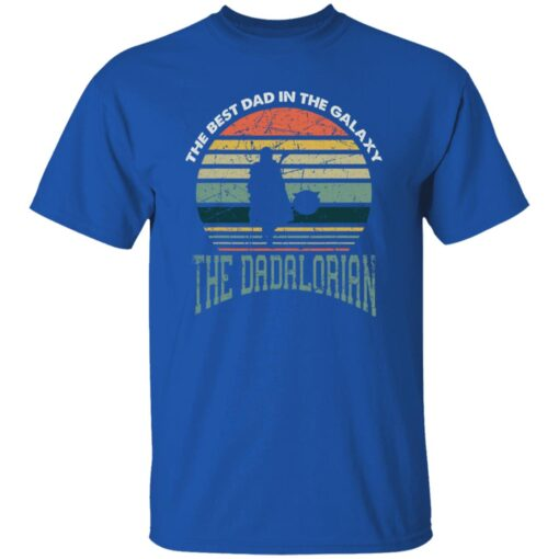 Best Men Vintage Shirt 2021, The Dadalorian Best Dad In The Galaxy T-Shirt 7 of Sapelle