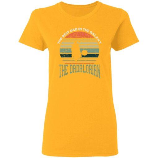 Best Men Vintage Shirt 2021, The Dadalorian Best Dad In The Galaxy T-Shirt 10 of Sapelle
