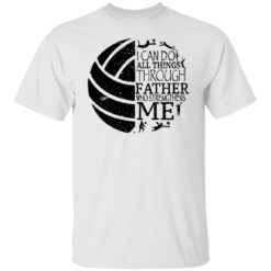 Gifts For Volleyball Dad Volleyball Dad T-Shirt 18 of Sapelle