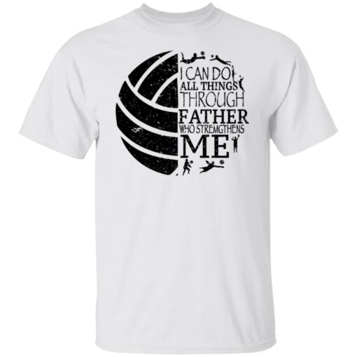 Gifts For Volleyball Dad Volleyball Dad T-Shirt 2 of Sapelle