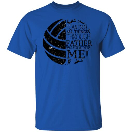 Gifts For Volleyball Dad Volleyball Dad T-Shirt 5 of Sapelle