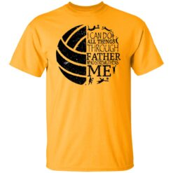 Gifts For Volleyball Dad Volleyball Dad T-Shirt 28 of Sapelle