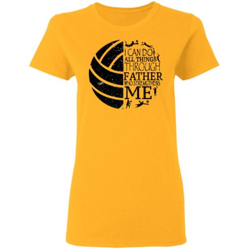 Gifts For Volleyball Dad Volleyball Dad T-Shirt 11 of Sapelle