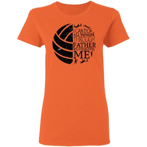 Gifts For Volleyball Dad Volleyball Dad T-Shirt 14 of Sapelle