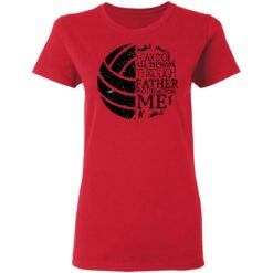 Gifts For Volleyball Dad Volleyball Dad T-Shirt 44 of Sapelle